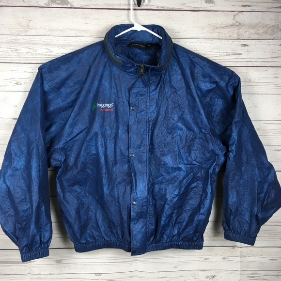 Frogg Toggs Other - Frogg Toggs Mens Rain Jacket Blue XL Polypropylene